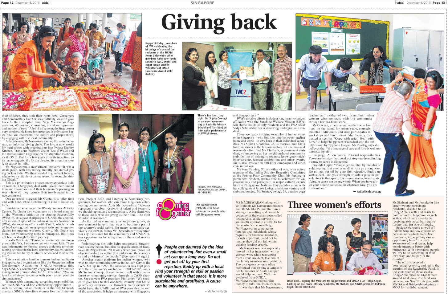Tabla article about Reachable Fund