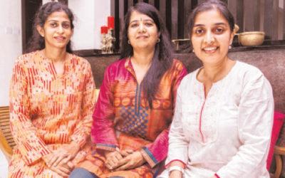 Tamil Murasu profiles the BridgeAble Team